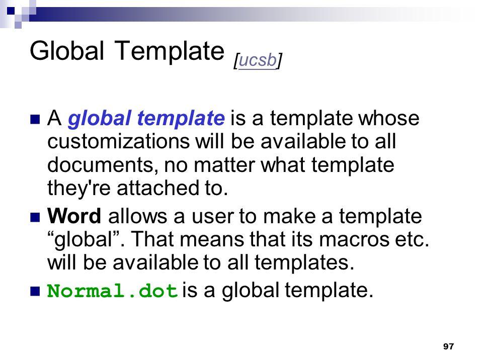 Global Template [ucsb]
